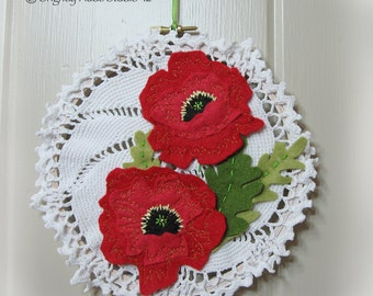 30% off!  Red Poppies- Wall Art