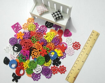 DIYTIME colorful beads, jewelry findings supplies beading supplies 50pcs #1879