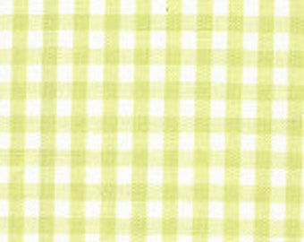 """1/8"""" CHARTREUSE Fabric Finders Gingham"""