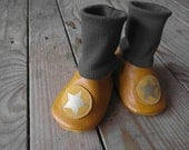 Halloween special - Baby soft leather booties