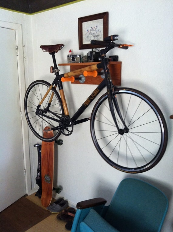 custom wall mount bike rack. Black Bedroom Furniture Sets. Home Design Ideas