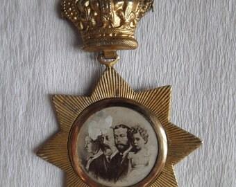 Queen Victoria Diamond Jubilee Commemorative Badge