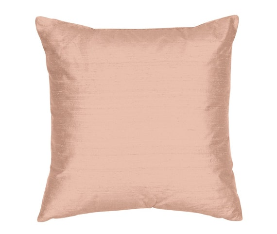 Throw Pillow Cover Silk Shantung Decorative Pillow