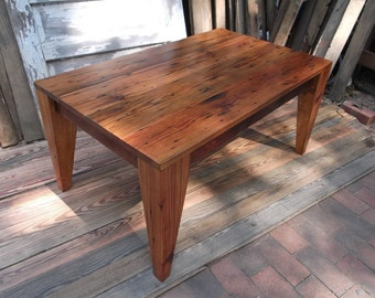 Ambrosia Maple Slab Coffee Table Natural Live Edge By