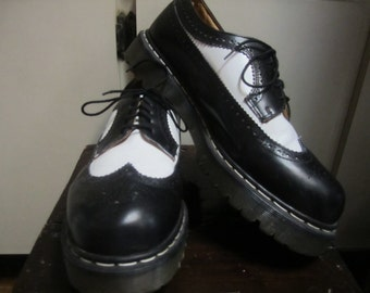 Wing Tip Doc Martens Made In England Mens Size UK12 US 14 Made In England