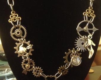 Steampunk Treasure Necklace