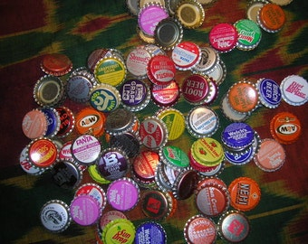 1000 VINTAGE  Soda Bottle Cap Assortment , Varies  From Cork ones to Semi Newer 80s