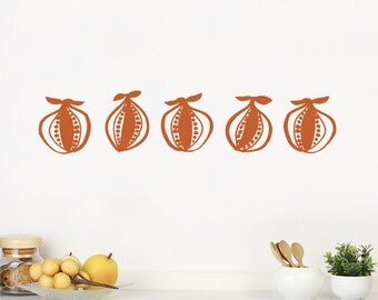 Norr - Wall Decal - Nut Brown