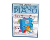 First Book Of The Piano Usborne Book 1991 Music Book Piano Music