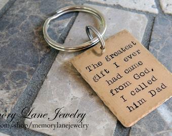 Men's Personalized Key Chain