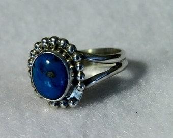 Turquoise 3 Bead Split Ring - Tom Nugent