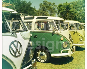4 x 4 photo Four VW buses