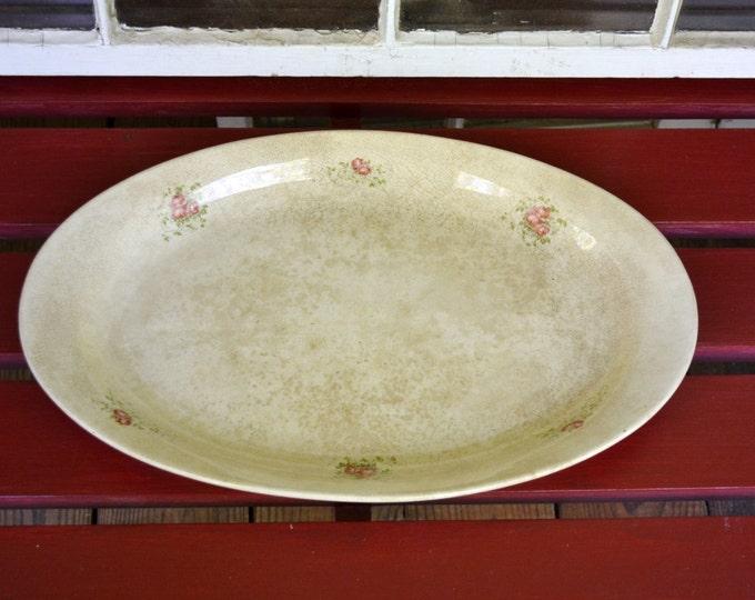 Vintage Large Serving Platter Homer Laughlin Panchosporch