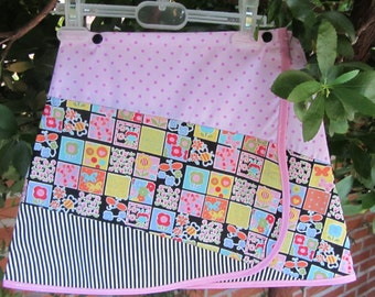 patchwork skirt for girl