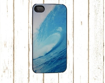 Beach Waves Surfboard Cell Phone Case for Iphone 5/5s and Iphone 4/4S, Iphone 6/6s Case, Surfing Phone Cover.