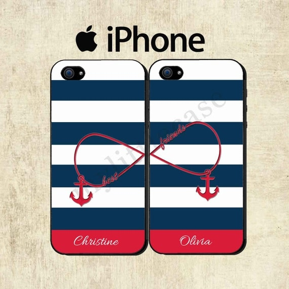Best Friends iPhone 5S Case Personalized - 69.7KB