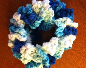 Hair scrunchy, hair accessory, hair tie, many colors available, fun for all ages, accessories, cotton or acrylic