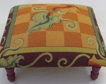 Corona Decor Co. Issabella French Woven Footstool