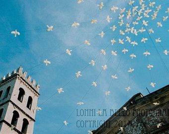 Landscape Photography-Birds In The Sky Fine Art Print