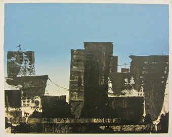 Blue No.2 (Cityscape)