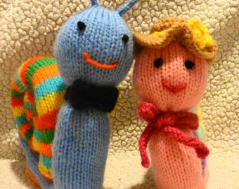 Knitting Pattern For Toy Snail : Popular items for toy knitting pattern on Etsy