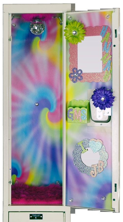 tie dyed locker wallpaper by luvurlocker on etsy
