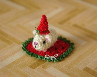 PDF PATTERN - Amigurumi Crochet Tutorial Pattern Miniature Guinea Pig