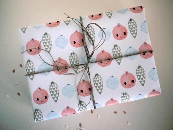 Geschenkpapier - Jingle Bells - 100% ECO - 2 Bogen/A2