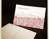 San Francisco letterpress card and journal bundle
