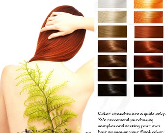 Kitsune Fox Fire Herbal Hair Color and Conditioner 10G Sample