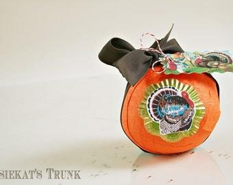 Kids Gift - Surprise Ball Party Favor - Thanksgiving Vintage Novelty - Thanksgiving Dinner Favor - Turkey Custom Gift - Table Decor Kids