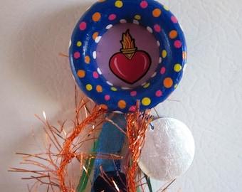 Sacred Heart Sagrado Corazon Art Magnet