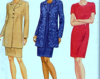 Sewing Pattern Butterick 5745 Misses Dress and Jacket Bust 36-38-40 inches  Complete