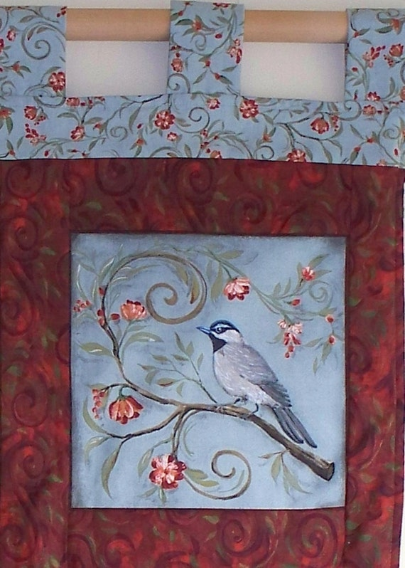 Quilted Wall Hanging - The Songbirds of Spring