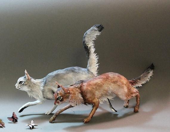 CUSTOM ORDER - Cat or Pet Sculpture (small)