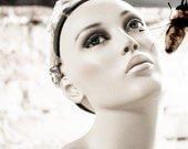 Black and White Mannequin Art Photography Ivory White - THE FLY