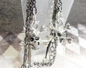 Skulls and Chains Earrings