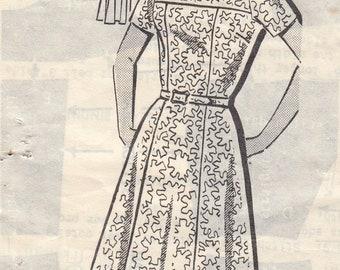 "Vintage Sewing Pattern Ladies Dress 1960's Patt-O-Rama 8362 Bust 44"""