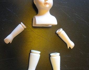 DOLL PARTS VINTAGE Gorham Porcelain