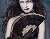Steampunk Assassin 13 x 19 Print