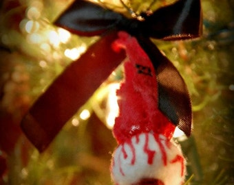 Eye Eyeball Ornament- Horror Goth Christmas Tree Ornament