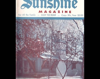 Sunshine - Vintage Magazine c. February 1968