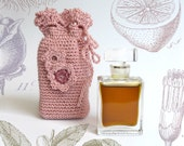 Lyra Organic Natural Botanical Perfume Flacon - Rich, full-bodied, sweetly tinged amber, floral fragrance