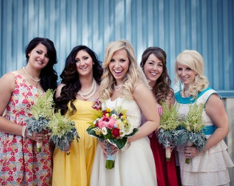 Bridesmaid Dresses for Your Wedding to Mix and Match - Cotton Mismatched