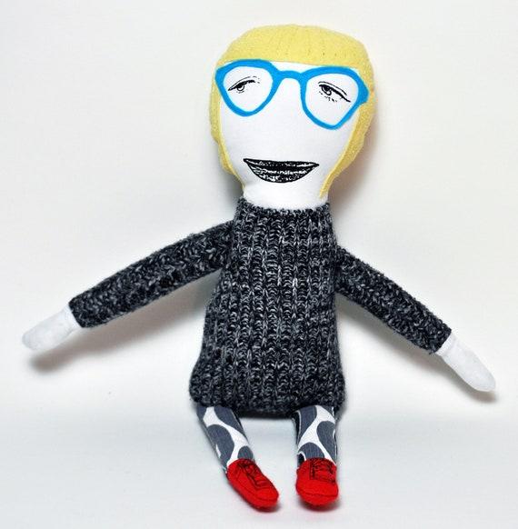 Olga - OOAK Art Doll
