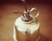RESERVED Vintage Brass Oil Can