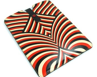 Leather Case for iPad Air, iPad Air 2, iPad 4, iPad Mini, Kindle, Paperwhite - Retro Love