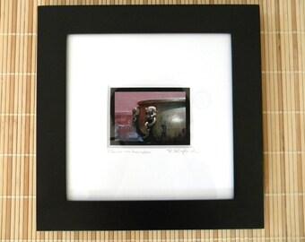 Framed Photography, Asian Art Framed, Forbidden City China Framed Print, Pink Photography, Asian Decor, Square Wall Art Framed, 10x10