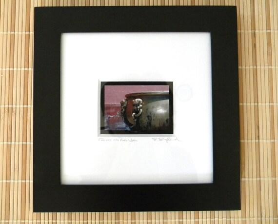 Framed Photography, Asian Art, Forbidden City China, Pink Photography, Asian Decor, Framed Art, Pink Art, Square Wall Art, Pink Photo, 10x10