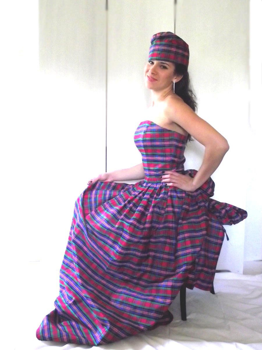 Excellent Tartan Ball Gown Images - Images for wedding gown ideas ...
